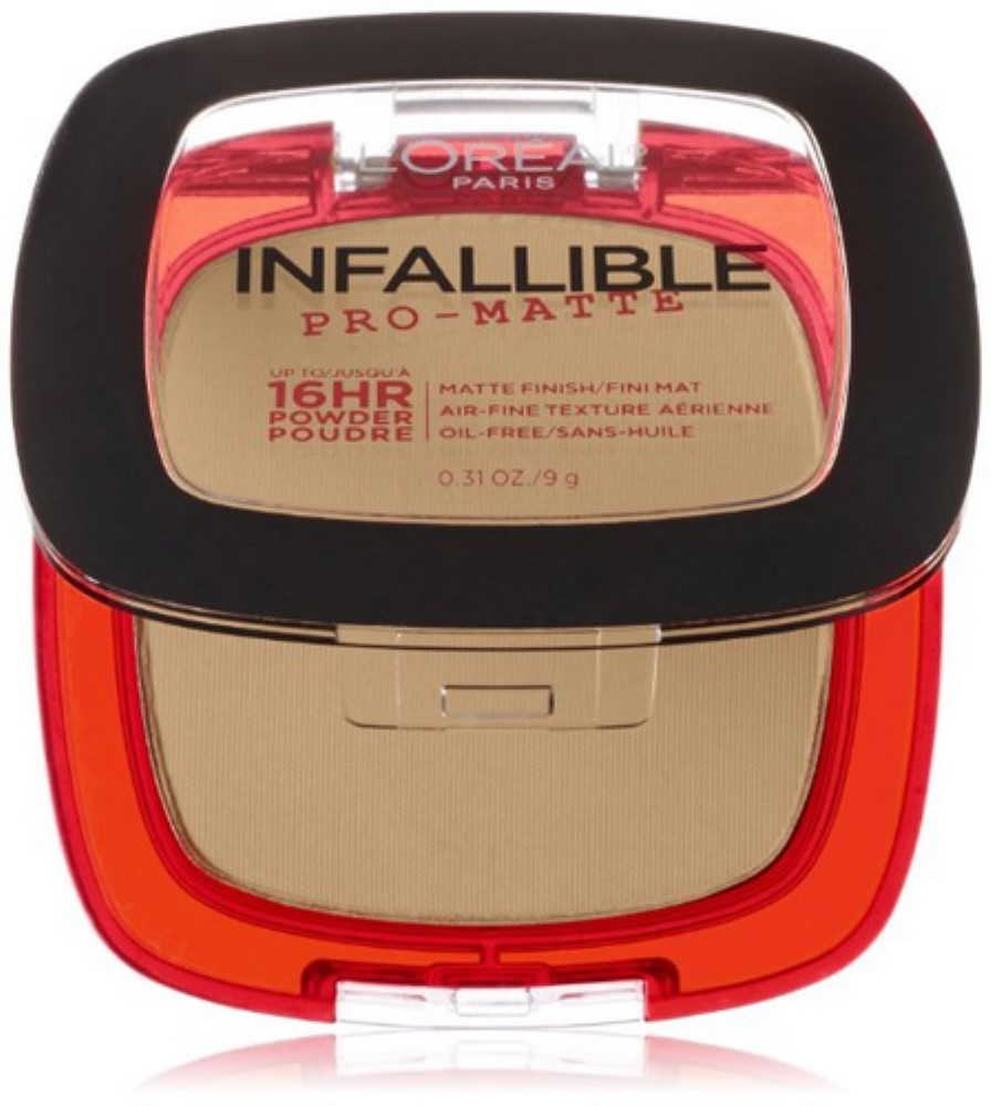 L'Oreal Paris Infallible Pro-Matte Powder, Nude Beige [300] 0.31 oz (Pack of 2)
