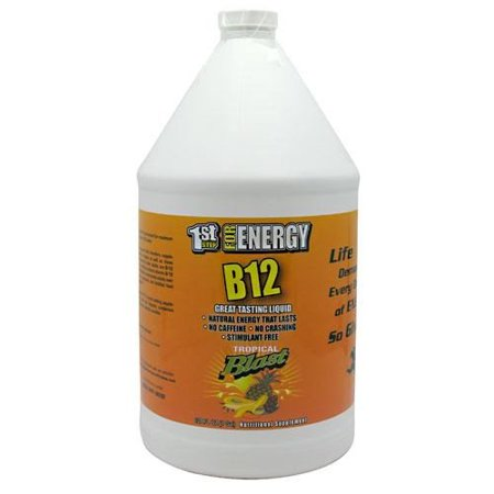 16 Boost - 1st Step for Energy B12 Boost, Cherry Charge, 16 Fl oz