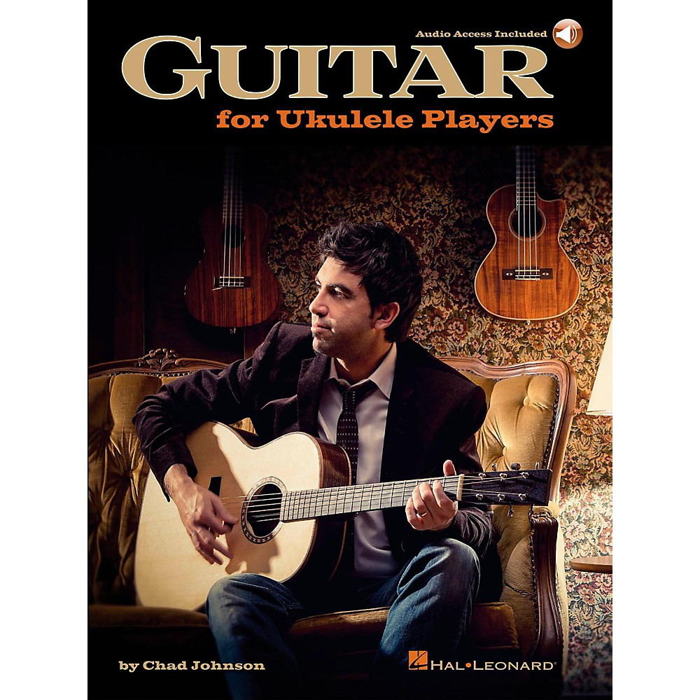 Hal Leonard Guitar For Ukulele Players Book/Audio Online