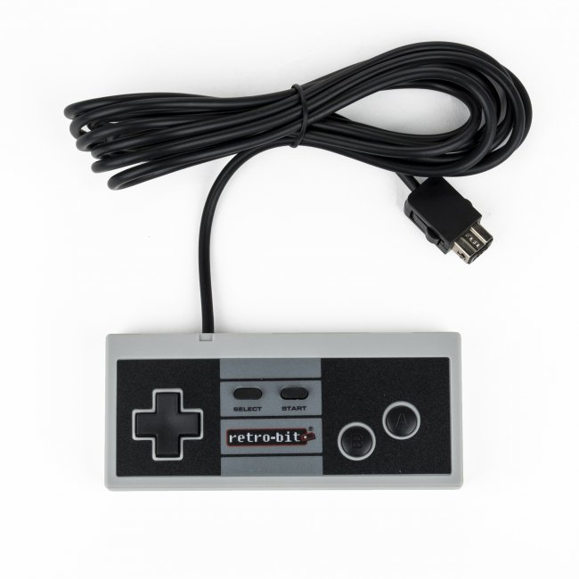 Retro-Bit NES Classic Retro 8 Pro Wired Controller for NES Classic/Wii/Wii U