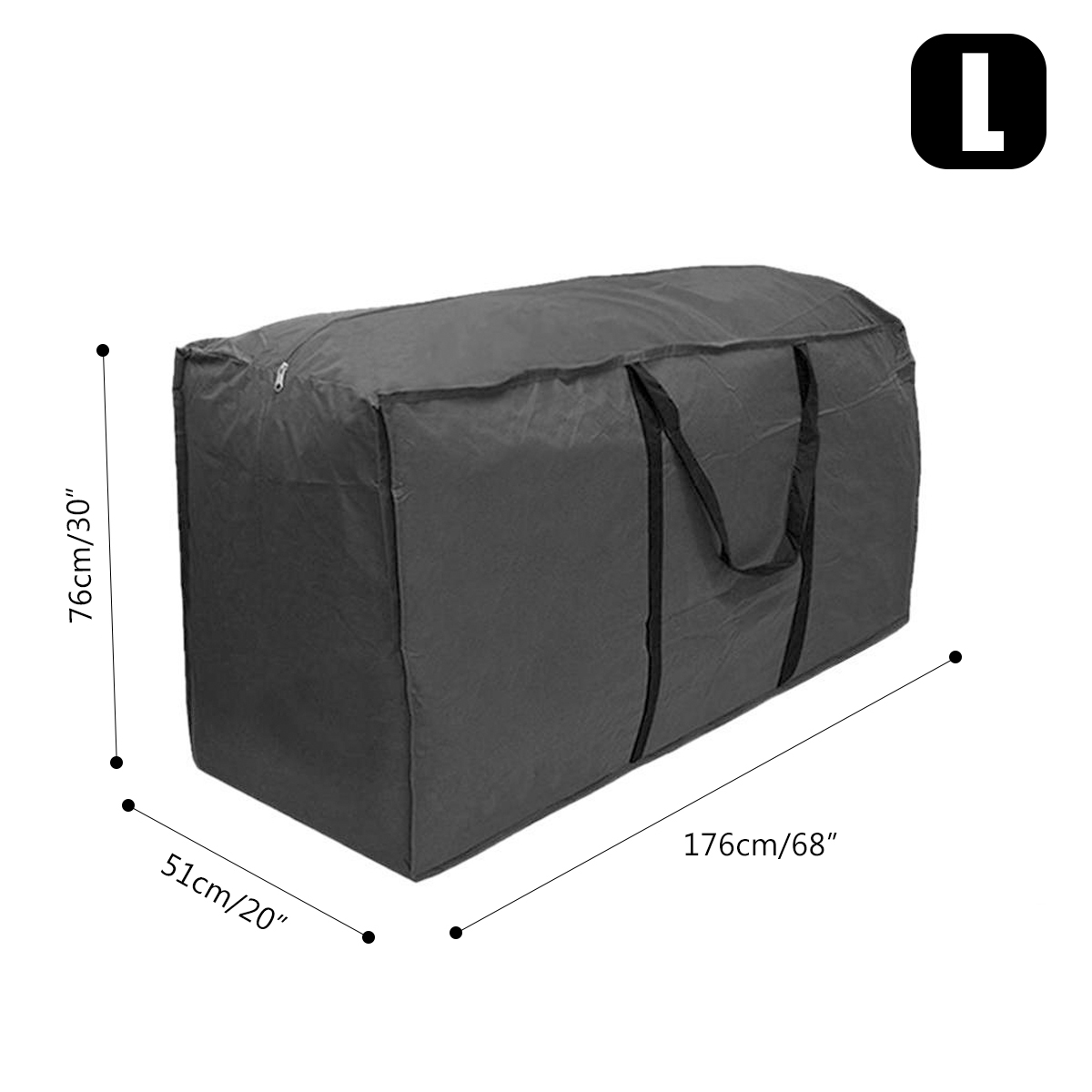 Extra Large Waterproof Storage Bag Outdoor Furniture Cushions Christmas Tree Toy