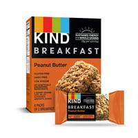 KIND Breakfast Bars 4 ct, Peanut Butter Bars, Gluten Free