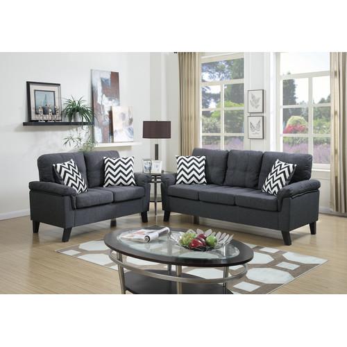 Infini Furnishings Sofa and Loveseat Set Walmart