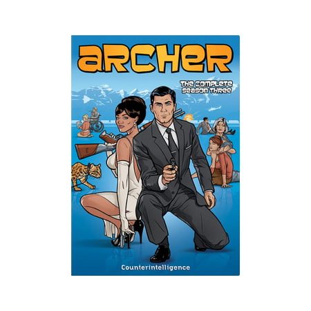 Archer: The Complete Season Three (DVD) (Archer Tv Series Dvd)