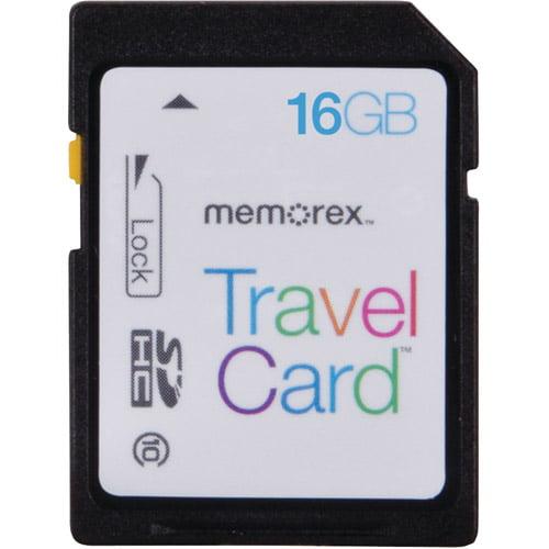 Memorex TravelCard 16GB SDHC Memory Card