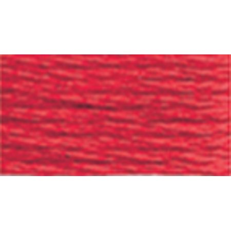 DMC Pearl Cotton Skein Size 5 27.3yd-Bright Red (Anchor Pearl Cotton)