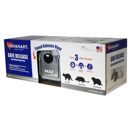 - Havahart Large 2-Door Safe Release Live Animal Cage Trap