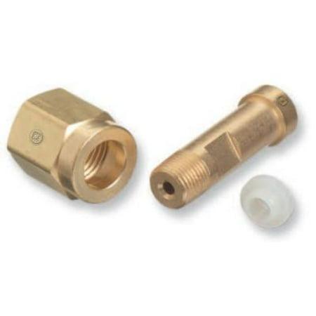 Brass Regulator Nut (Regulator Inlet Nuts, Refrigerant Gases, Brass, CGA-660)