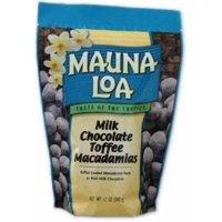 Mauna Loa Macadamia Toffee Milk Chocolate Nuts, 11 Oz.