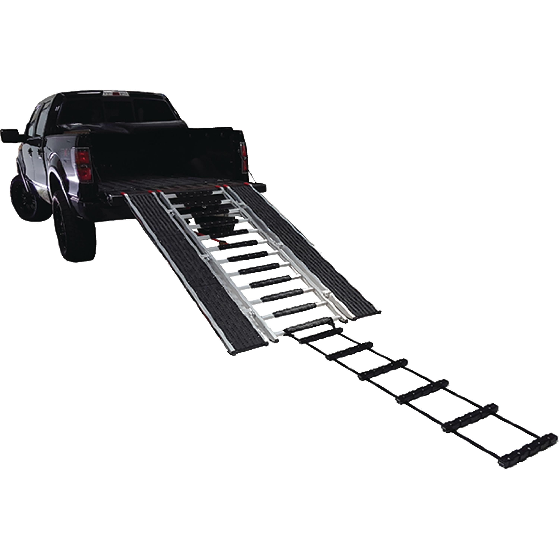 "Caliber 13550 15"" x 82"" Snowmobile ATV Ramp Traction Ladder"