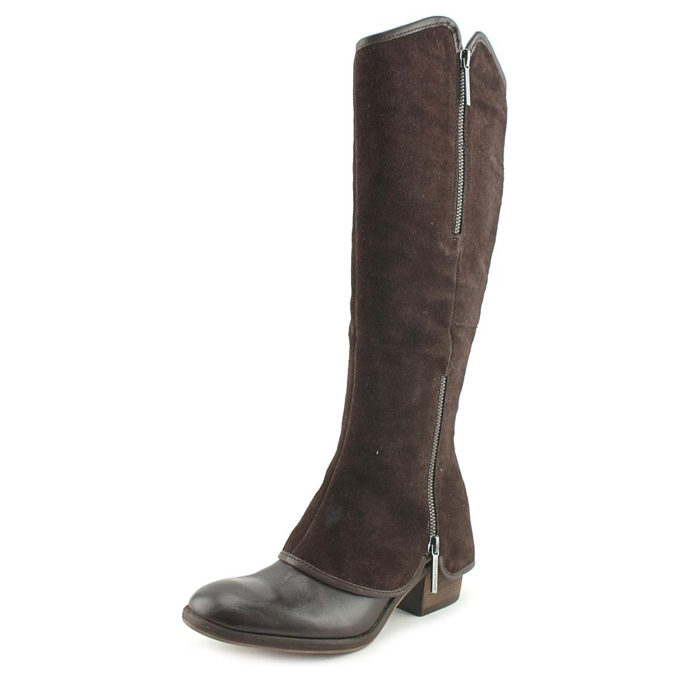 Click here to buy Donald J Pliner Devi Women Round Toe Leather Brown Knee High Boot by Donald J Pliner.