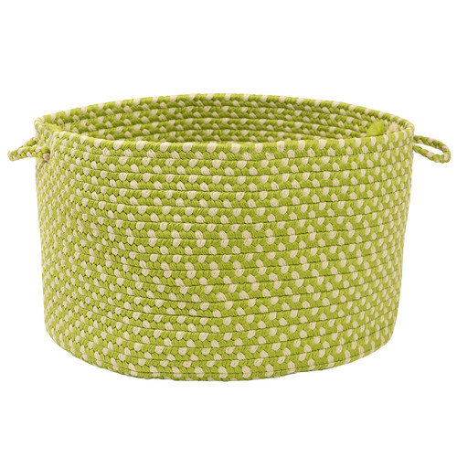 Colonial Mills Montego Lime Twist Utility Basket