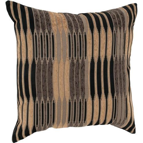 "Better Homes and Gardens Varigated Stripe Decorative Toss Pillow 22""x22"