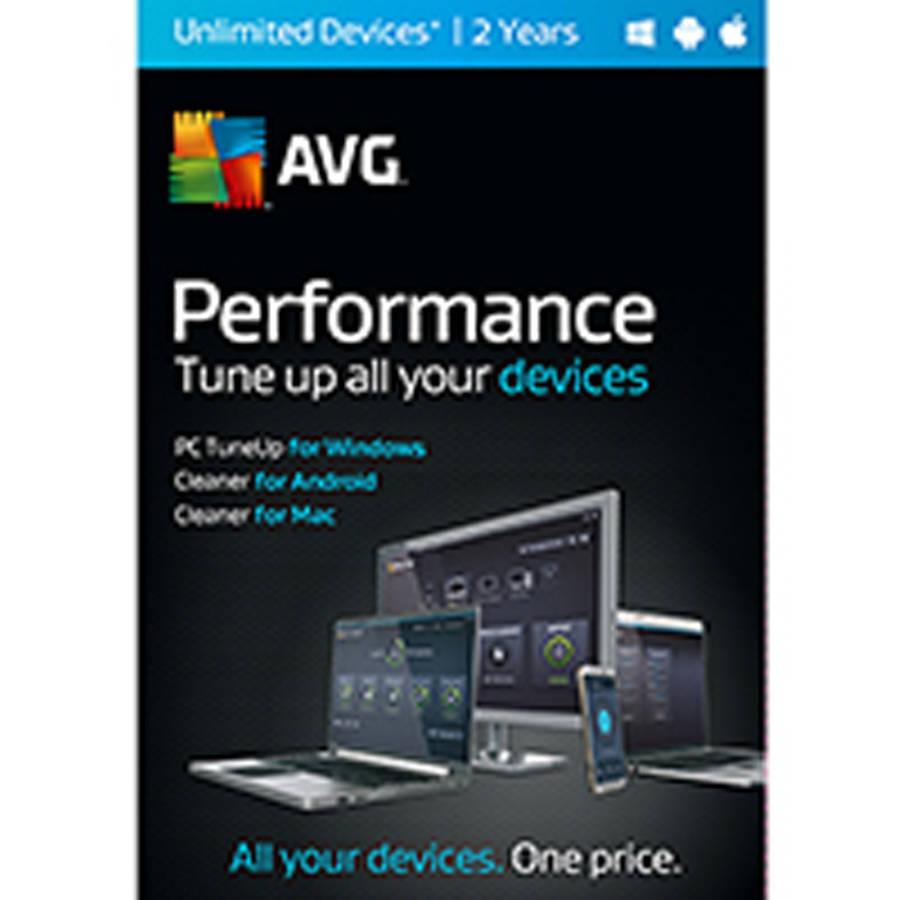 Software Software de rendimiento promedio, 2 años + AVG en Veo y Compro