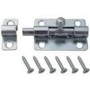 "3"" Zinc Plated Barrel Bolt Latch  Brainerd Cabinet Latches 31985 022788319853"