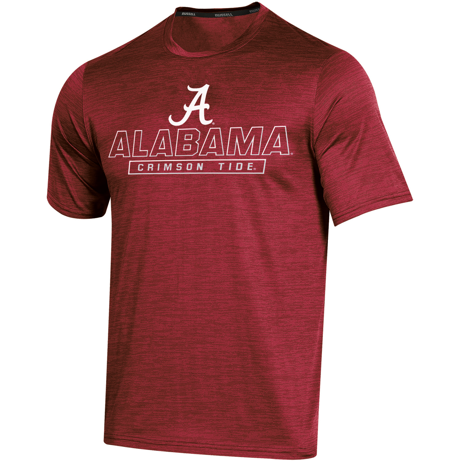 Men's Russell Crimson Alabama Crimson Tide Synthetic Impact T-Shirt
