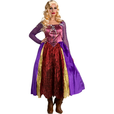 Women's Salem Sisters Witch Dress Silly Costume - Glinda The Good Witch Dress