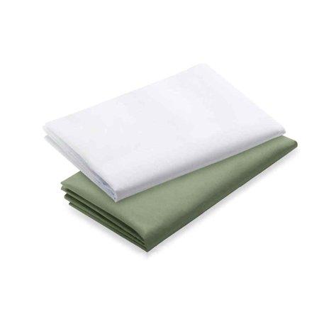 Graco Pack N Play Waterproof Sheets  2Pk  Sage White