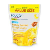 Deals on 2Pk Equate Value Size Sugar-Free Honey Lemon Cough Drops 140-ct