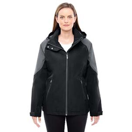 Ash City   North End Sport Red Ladies Impulse Interactive Seam Sealed Shell   Blck  Carbon 703   2Xl 78808