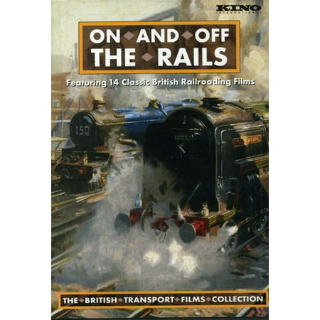 Rail Transportation Set - On and off the Rails: The British Transport Films Collection 1951-1980 (DVD)