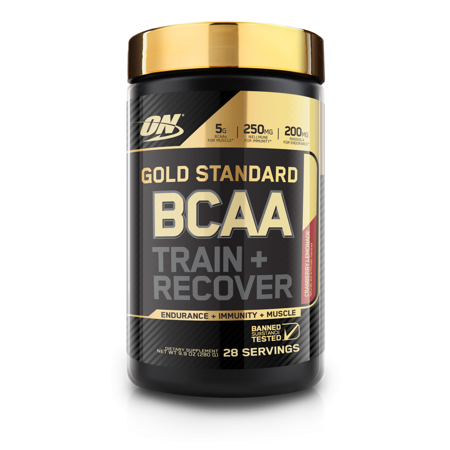 Optimum Nutrition Gold Standard BCAA Powder, Cranberry Lemonade, 28 Servings