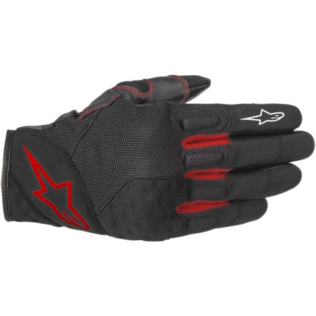 Alpinestars Kinetic Gloves (XX-LARGE) (BLACK/RED) - Kinetic Race Gloves