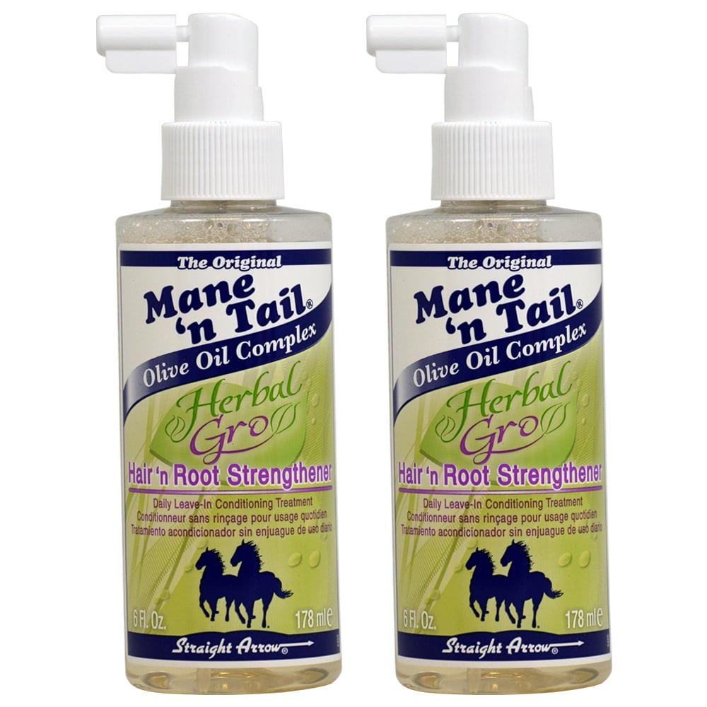 Mane N Tail Herbal Gro Hair 'N' Root Strengthener 6oz (2 Pack) …
