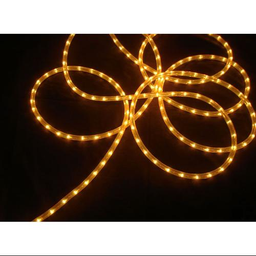 100' Gold Commercial Length Christmas Rope Light On a Spool