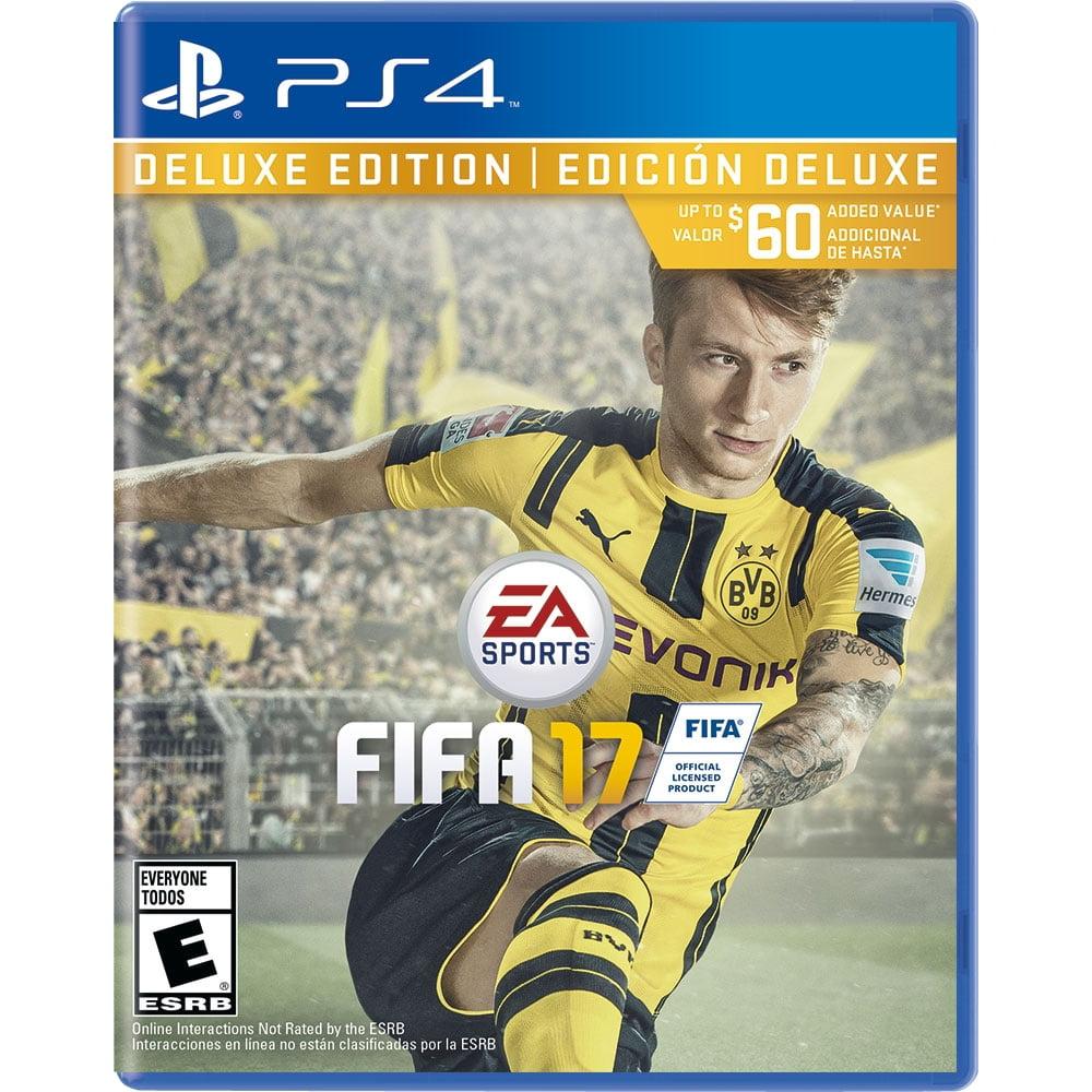 FIFA 17 Deluxe Edition Scarf Bundle - PlayStation 4