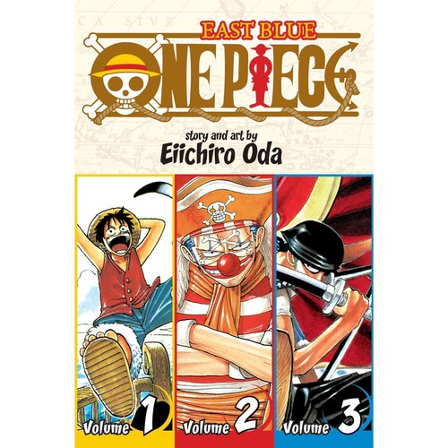 One Piece 1: East Blue 1-2-3 Omnibus