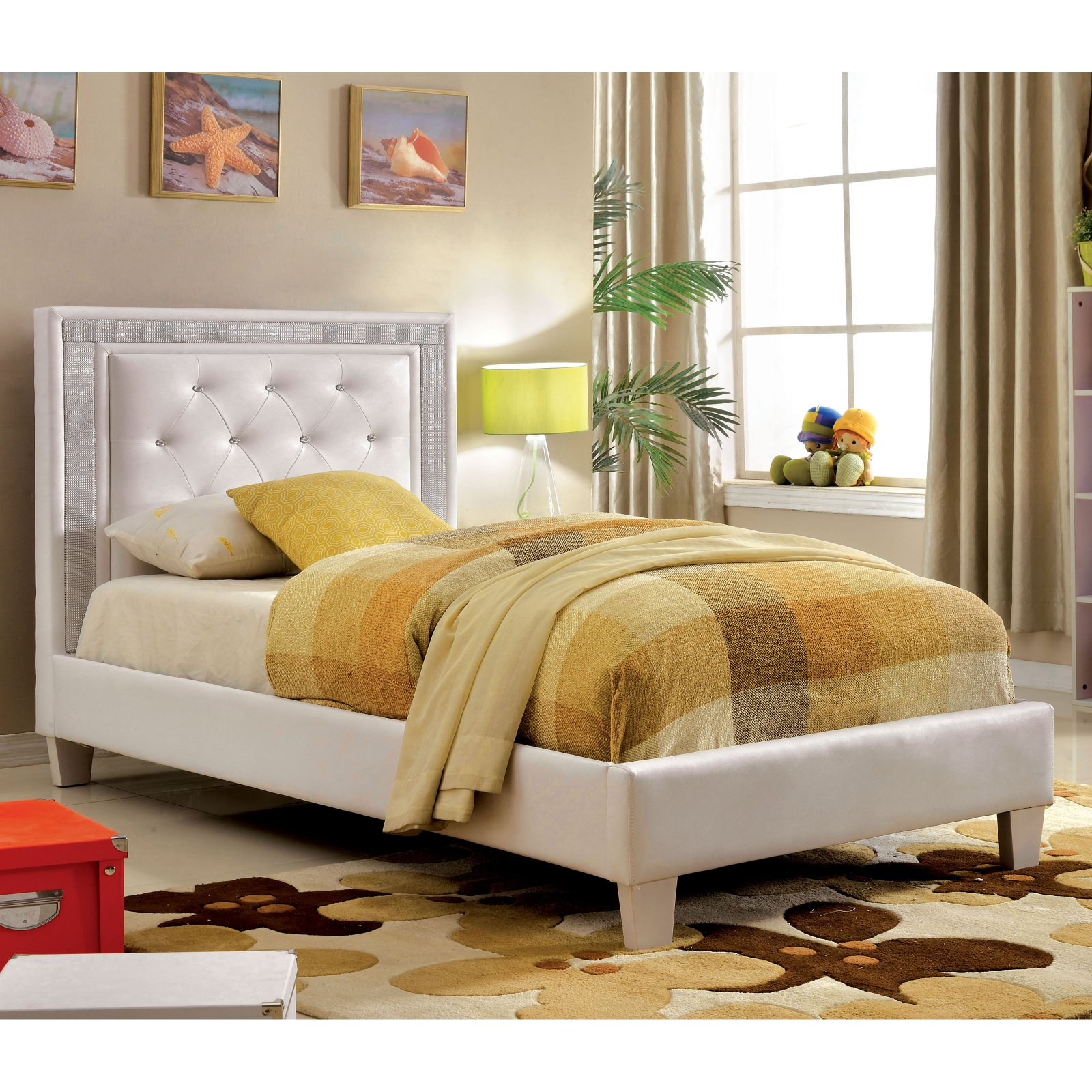 Furniture of America Ellis Youth Platform Bed