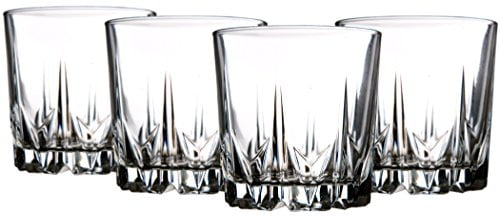 Palais Glassware 'Diamant' Collection; High Quality Diamond Cut Glass Set (Set of 10 12... by Palais Glassware