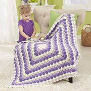Herrschners® Feathered Shells Baby Afghan Crochet Afghan Kit