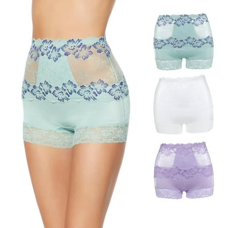 Rhonda Shear Lace Overlay Pin-Up Shortie -