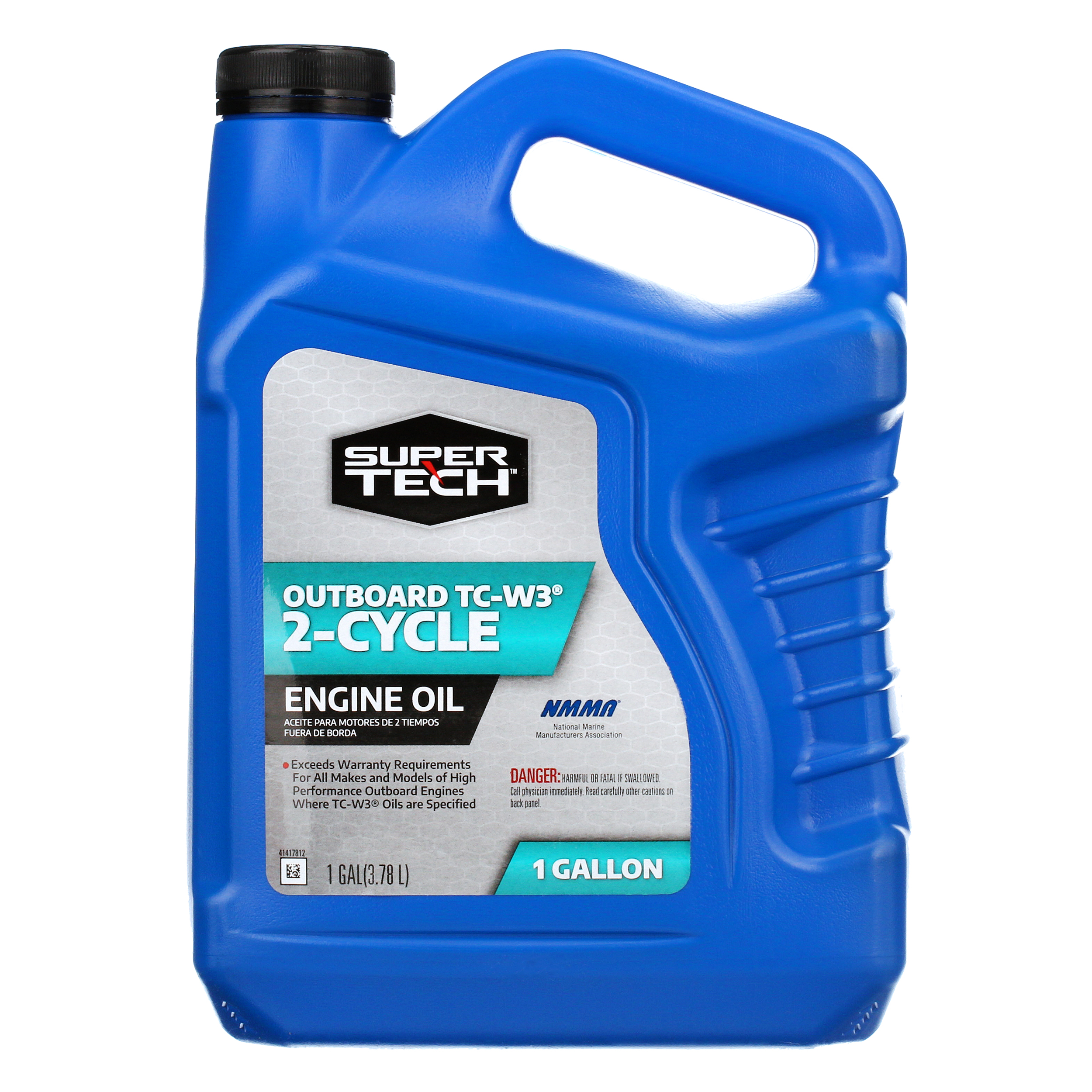 Super Tech TC-W3 Outboard 2-Cycle Engine Oil, 1 Gallon - Walmart