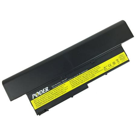 New Poder Premium High Quality 8 Cell Replacement Battery for Lenovo IBM ThinkPad X40 X41 14.8V 3600mAh