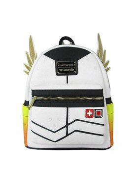996a21d066c Product Image Overwatch Loungefly Mercy Yellow Orange Mini Backpack New w   tags