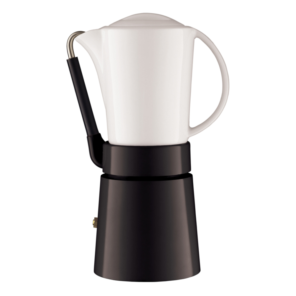 aerolatte Cafe Porcellana Black 11-Ounce Espresso Maker by aerolatte