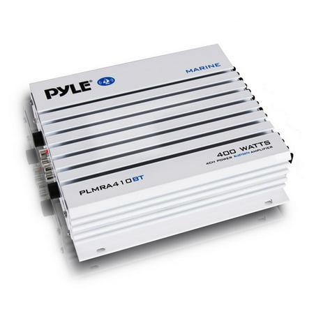 Elite Series Waterproof BT Amplifier, 400 Watt 4-Channel