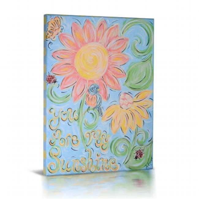 Green Fog GF0029 You Are My Sunshine Canvas Gallery Wrapped Art