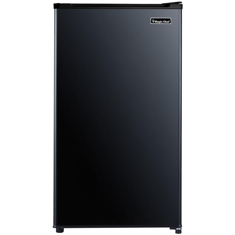 Magic Chef 3.2 Cu. Ft. Compact All-Refrigerator in Black