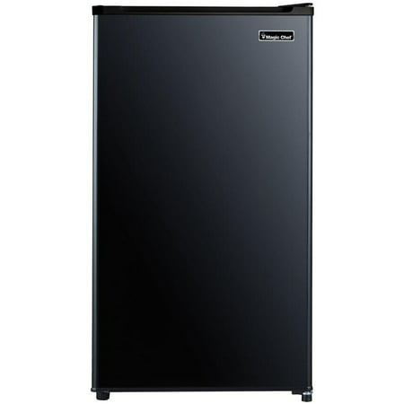 Magic Chef 3.2 Cu. Ft. Compact All-Refrigerator in Black (Automatic Built In Refrigerator)