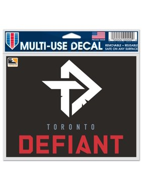 "Toronto Defiant WinCraft 5"" x 6"" Car Decal"