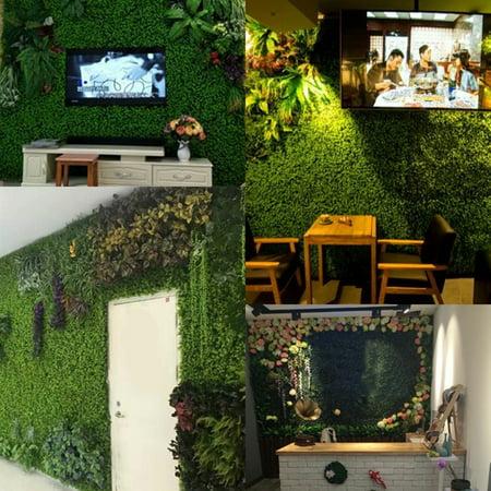 Emulational plante verte petit chlorophytum fleurs artificielles plante verte herbe verte mur aménagement paysager décoration artisanat pour la décoration intérieure - image 3 de 9