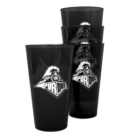 Purdue Boilermakers Plastic Pint Glass Set