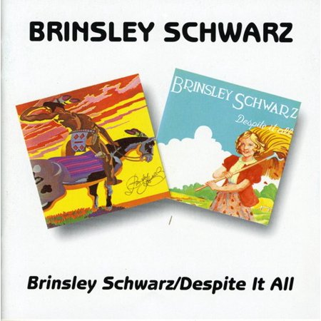 Brinsley Schwarz / Despite It All (CD) (Stirnband Schwarz)