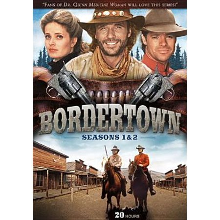 BORDERTOWN-SEASON 1 & 2 (DVD) (4 DVD SLIMLINE) -