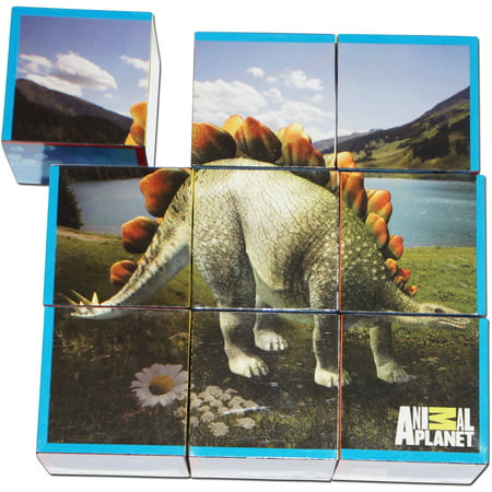 Smart Play Animal Planet Puzzle Cubes  Dinosaurs