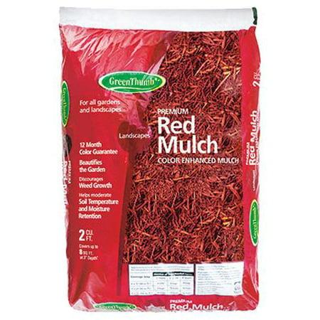 GT 2CUFT RED Mulch